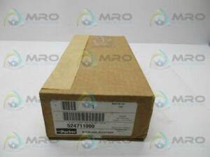 Parker 524711000 Manual Air Control Valve New In Box