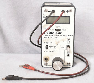 Omega Cl 305 Process Voltage Analyzer