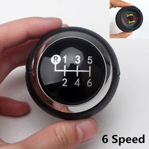 Black 6speed Gear Shift Knob For Toyota Corolla Avensis Yaris Urban Rav4 Cruiser