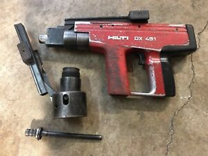 Hilti Dx451 Powder Actuated Fastening Tool