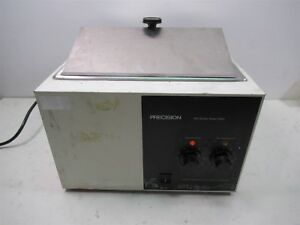 Precision 180 Series Water Bath Model 183 Heated Laboratory 3 Gallon Stainless