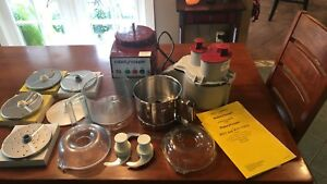 Robot Coupe R2n And R2n Ultra Clr Food Processor W extra Bowl Blades