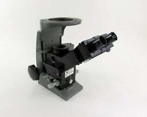 Leitz Wetzlar Metallograph Inverted Microscope W Buehler Stand For Parts
