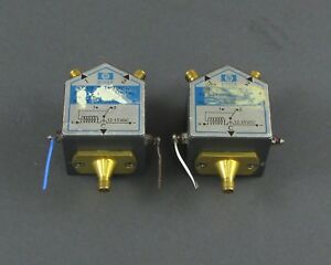 Lot Of 2 Hp Agilent 8761a Spdt Rf Switches Dc 18 Ghz For Parts Repair