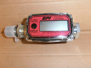 New Gpi Electronic Digital Fuel Meter 01a31gm