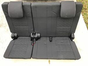 2015 2016 2017 Chevrolet 2016 Chevy 3rd Third Row Suburban Seats Cloth