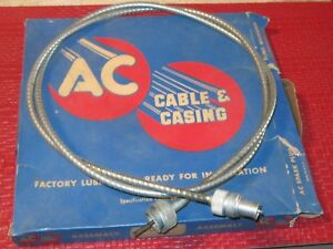 Nos 1937 47 Ford hudson lincoln willys overland Speedometer Cable Genuine Ac