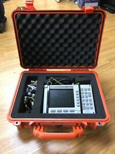 Anritsu Site Master S331d Cable antenna Analyzer Opt 3 Color Screen With Case