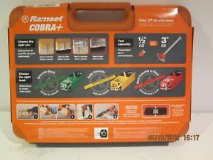 Ramset 16942cobra Plus 27caliber Semi Auto Powder Actuated Tool f ship nisb