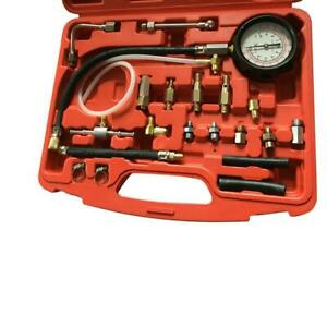 Fuel Injection Pump Pressure Tester Injector Test Pressure Meter Kit 140ps Case