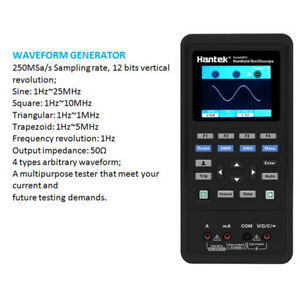 70mhz 40mhz Handheld Digital Storage Oscilloscope Multimeter 2ch dmm