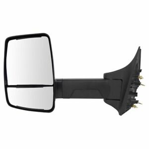 Mirror Manual Velvac Style Textured Black Driver Left Lh For 99 16 Ford Pickup