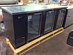 Turbo Air Tbb 4sg n 90 Commercial Glass Door Refrigerated Back Bar Cooler