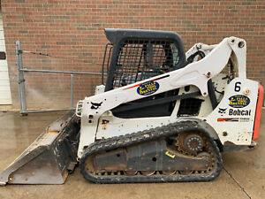 2013 Bobcat T590 Skid Steer Track Loader Kubota Diesel Low Hours