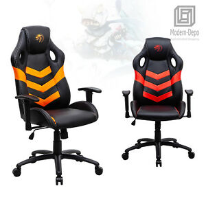 High Back Racing Gaming Chair Ergonomic Swivel Recliner Computer Office Desk