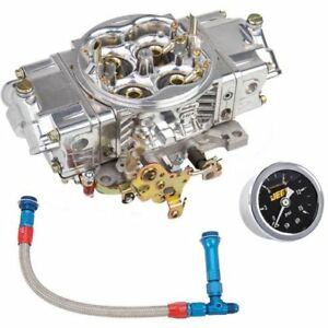 Holley 0 82951sak Aluminum Street Hp Carburetor Kit Includes 950 Cfm Carburetor