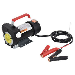 12v Electric Diesel Oil And Fuel Kerosene Transfer Extractor Pump Kit W Nozzle