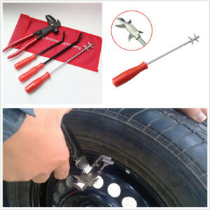 4 X Portable Car Alloy Steel Wheel Weight Balance Remover Plier Cutter Tire Tool