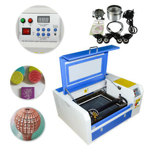 Updated 50w Co2 Laser Engraver Cutter Engraving Cutting Machine 300 500mm