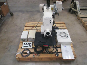Carl Zeiss Axiotron Microscope Csm Vis uv loaded Controls Optics Etc