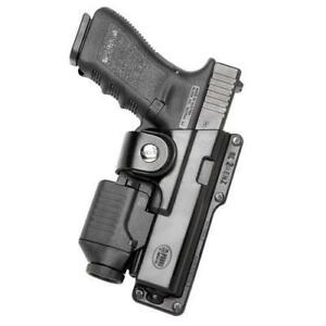 Fobus Glt21 Black Rh Tactical Self locking Holster Fits Glock 21 20 W light