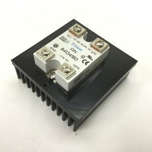 Crouzet 84134180 Solid State Relay W Heatsink In 4 32vdc Contact 48 660vac