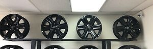 Set Of 18 Gloss Black Toyota Tacoma Limited Wheels Rims 75194 Oem Factory