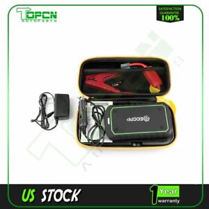 Car Portable Jump Starter Booster Jumper Box Battery Charger 12000mah 12v