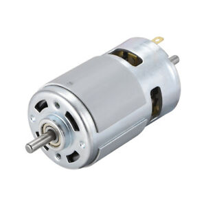 Micro Dc Motor 24v 9000rpm 0 4a Magnetic Double Shaft For Rc Boat Toys Diy Hobby