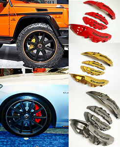 Brake Caliper Covers Set Of 4 Pcs For Mercedes Benz Vehicles Amg Style
