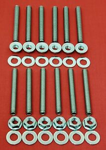 Small Block Ford 260 289 302 5 0l Intake Manifold Stainless Stud Bolt Kit