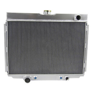 4 Row Core Radiator For Ford Mustang 390 428 429 V8 Engine 1967 1970 68 69 At Mt
