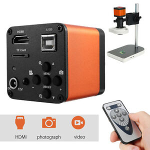16mp 1080p 60fps Hdmi Usb Lab Industrial Fhd Microscope Digital Camera Video