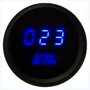Intellitronix M9123b 2 1 16 Led Digital Outside Air Temperature Gauge 50 To 250