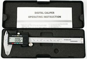 Digital Stainless Steel Vernier Calipers Dual Scale