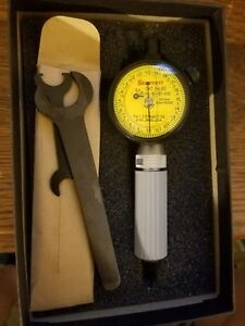 Starrett No 82 Series Dial Bore Gage Dial Guage Only And Wrenches
