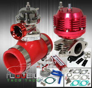 Turbo External Wastegate Bypass bov Rs Sound Adapter Coupler psi Control