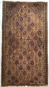 Kurdish Hand Made Wool Persian Authentic Antique Kilim Rug Old Anatolian Vintage