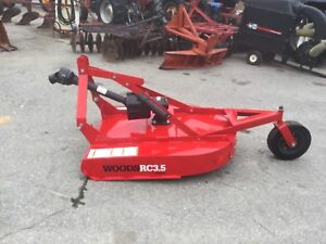 New Woods Rc3 5 3 Point Hitch 42in Bush Hog With Pto Shaft