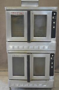 Blodgett Dfg 100 Nat Gas Double Stack Deck Full Size Convection Oven Bakery