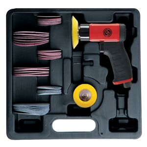 Chicago Pneumatic Cp7200 S Kit Sander Kit Mini Random Orbital