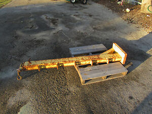 Forklift 5000 Lb 12 Ft Telescoping Adjustable Boom Dedicated Carriage Mount