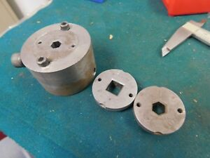 Watts Brothers Square Hex Hole Dies With Holder