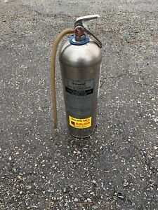 Used General 2 1 2 Gallon Water Fire Extinguisher Works Great