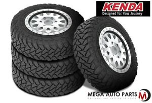 4 New Kenda Klever M t Kr29 35 12 5r20 10 Ply A t All Terrain Durable Mud Tires