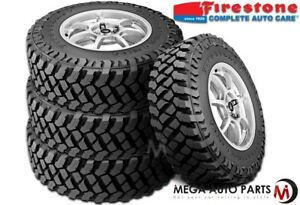 4 Firestone Destination Mt 2 35x12 50r20lt 121q Tires