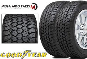 2 Goodyear Wrangler At Adventure W Kevlar Lt265 75r16 123r E All Terrain Tires