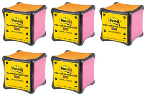 Post it Super Sticky Full Stick Notes Holder Cube 2x Sticking 3 In pack Of 5