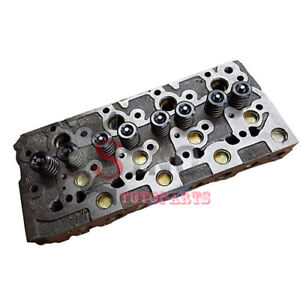 Complete Cylinder Head With Valves Springs For Bobcat 7753 763 334 331 341 337