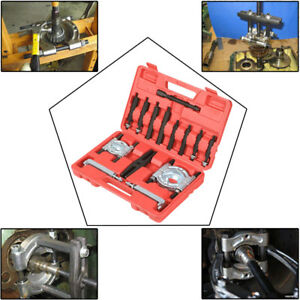14pcs Automotive Gear Puller Bearing Splitter Fly Wheel Separator Tool Set